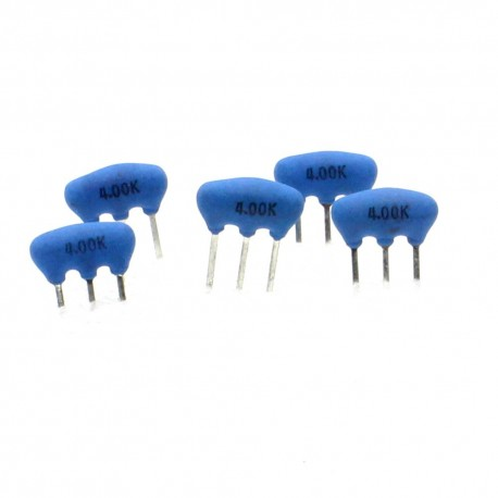 5x Résonateur céramique CQ 4.0MHZ - ZTT4MX-LF - 3-PINS