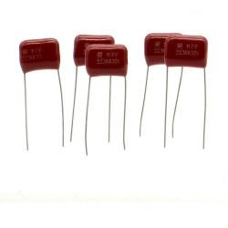 5x Condensateur CBB21 223J 22nf 630v P:10mm - SRD- 222con562