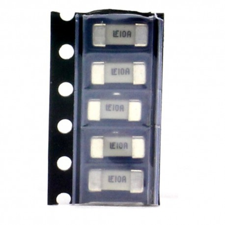5x Fusible rapide - 2.5A 125v - 1808 SMD - 6x2.7x2.7mm Littelfuse - 220fus288