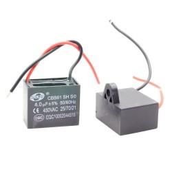 1x Condensateur Demarrage Moteur CBB61 4uF 450VAC 5%