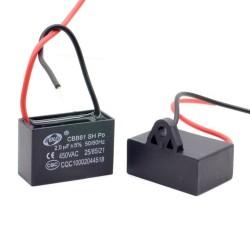 1x Condensateur Demarrage Moteur CBB61 2uF 450VAC 5%