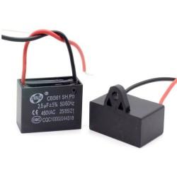 1x Condensateur Demarrage Moteur CBB61 2.5uF 450VAC 5%