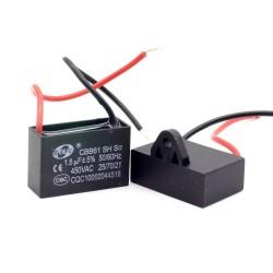 1x Condensateur Demarrage Moteur CBB61 1.5uF 450VAC 5%
