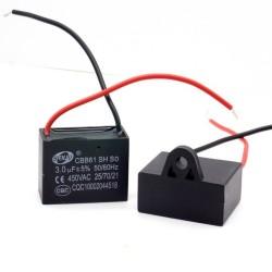 1x Condensateur Demarrage Moteur CBB61 4.5uF 450VAC 5%