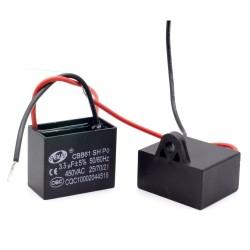 1x Condensateur Demarrage Moteur CBB61 3uF 450VAC 5%