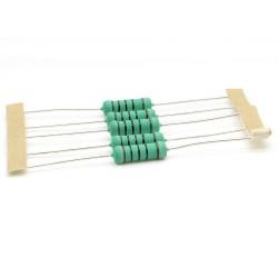 5x Résistance métal - 100ohm - 100R - 3W - 1% - 264res650