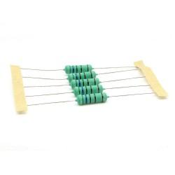 5x Résistance métal - 5.6kohm - 5.6K - 3W - 1% - 269res681