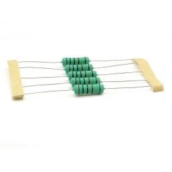 5x Résistance métal - 10Kohm - 10K - 3W - 1% - 270res690