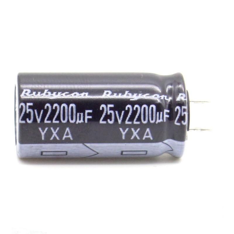 P: 8mm 312con580 16x25mm 2x Condensateur 3300uf 25v