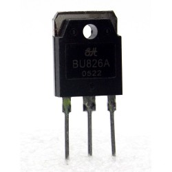 1x Transistor BU826A - NPN - Darlington - TO-218- 279tran075