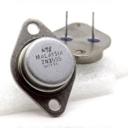 1x Transistor 2N3055 - NPN 15A 100v - TO-3 - ST - 280tran077