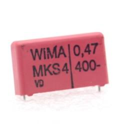 2x Condensateur Film Box PET WIMA 0.47uF 100V 5% - MKS2 - 107con284