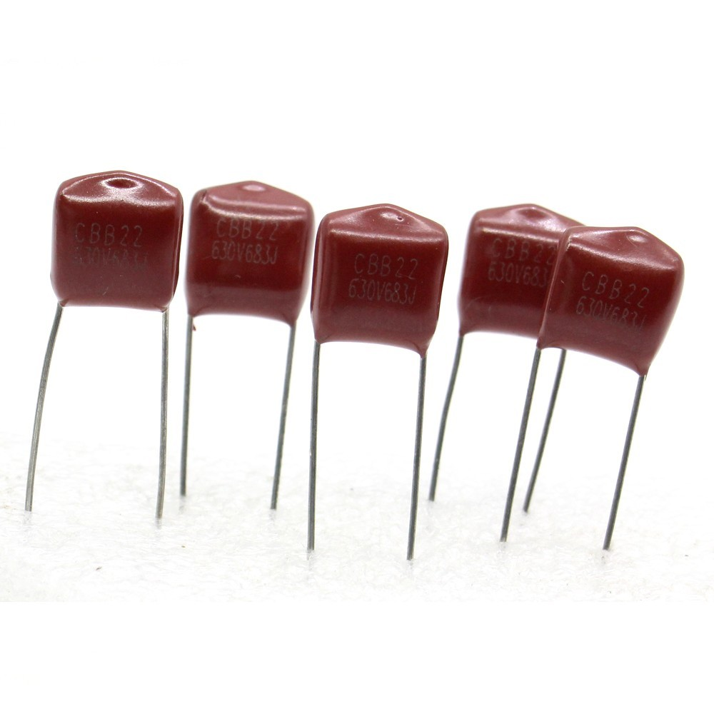 Metallized Film Capacitor 5x 153 0.015uf 15nf 630v 11x9mm 12con071