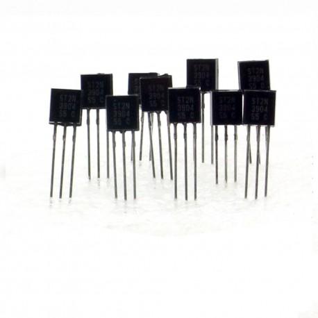 10x Transistor 2N3904 B331 - NPN - TO-92 - 36tran009