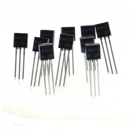 10x Transistor 2SC9013 S9013 H331 - NPN - TO-92 - 36tran010