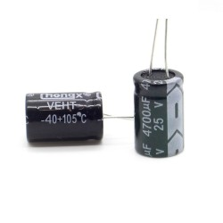 Condensateur 4700uF 25V 16x26mm - Hyncdz - 219con443