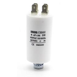 Condensateur moteur 0.68uf - 450v - MKSP-5P - Miflex - 326con602