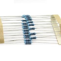 20x Résistances métal ¼W - 0.25w - 1% - 100R - 100ohm 100 ohm - 57res129