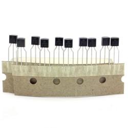 10x Transistor BC557 - f618 - BC557B - PNP - TO-92 - 96tran056