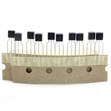 10x Transistor BC557 - f618 - BC557B - PNP - TO-92