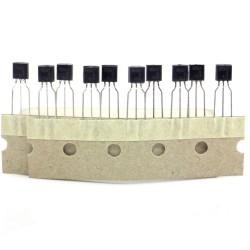10x Transistor BC547 - BC547B 166 - NPN - TO-92 - 38tran024