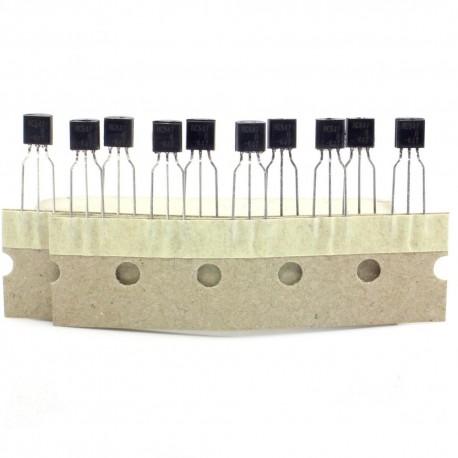 10x Transistor BC547 - NPN - TO-92
