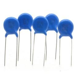 5x Condensateur ceramique 103 - 10nf - 3kv - 3000v Haute Tension - 53con404