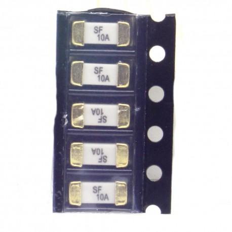 5x lot Fusible ceramique 1808 SMD - 10A - 125V 2.6x6mm - 172fus264