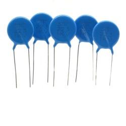 5x Condensateur ceramique 223 - 22nf - 1kv - 1000v Haute Tension - 40con120