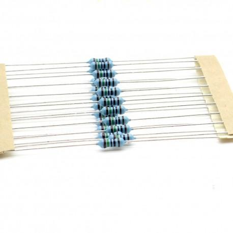 20x Résistances métal ¼W - 0.25w - 1% - 150R - 150ohm 150 ohm - 57res130