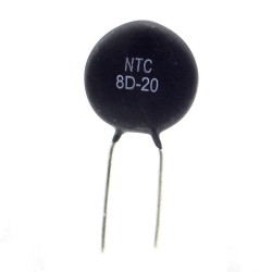 5x Thermistance - 5ohm NTC 5% - pas:7.5mm - Ruilongyuan - 93ther008