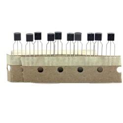 10x Transistor 2N5401 B331 - PNP - TO-92 - 36tran003