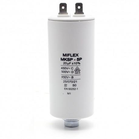 5P Motor Capacitor 0,68 μF Miflex mksp 100 μF Capacitor