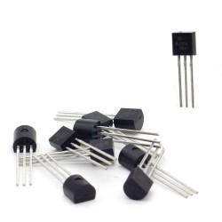 10x Transistor 2N3904 H331 - NPN - TO-92 - 95tran042