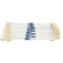 20x Résistances métal ¼W - 0.25w - 1% - 100Kohm 100K ohm - 60res150