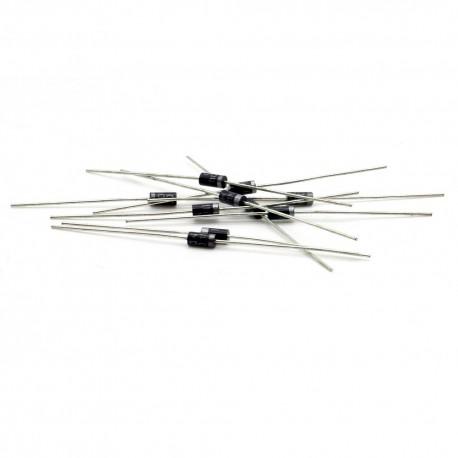 10x Diode redressement 1N4004 - 400v - 1A