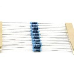 20x Résistances métal ¼W - 0.25w - 1% - 1000R - 1Kohm 1K ohm - 59res138