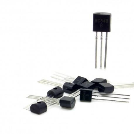 10x Transistor BC548 - f513 BC548 B - PNP - TO-92 - 94tran035