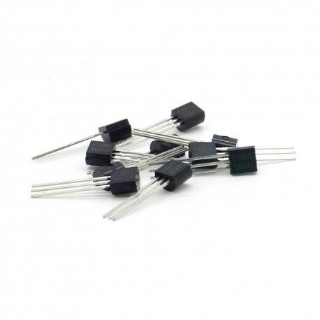10x Transistor C1815 GR331 - NPN - TO-92 - 36tran008