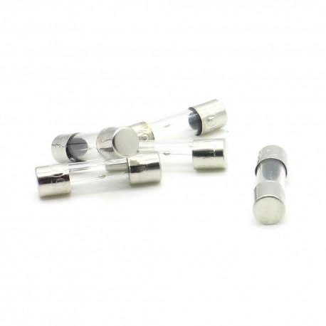 5x lot Fusibles verre 5x20mm lent T2A 2A - 250v - 8fus074