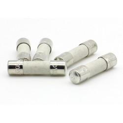 5x lot Fusible ceramique 5x20mm Rapide 4A - F4A - 250v - 69fus089