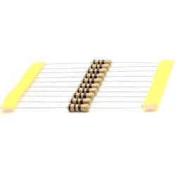 10x Résistance Carbone 1w - 100 ohm - 100ohm - 5% - Royal OHM - 166res332
